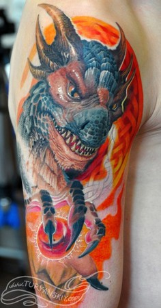 Tattoos - Dragon Drako - 46783