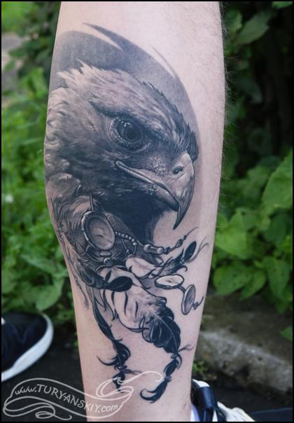Tattoos - Eagle Tattoo - 77915
