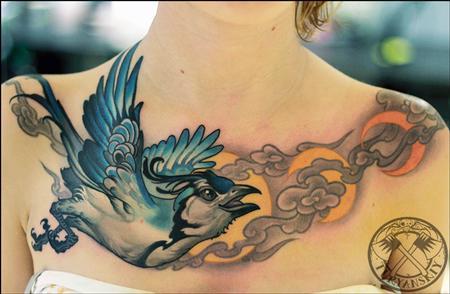 Oleg Turyanskiy - Jaybird tattoo