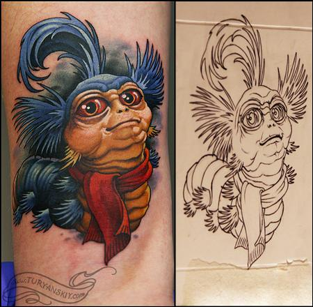 Tattoos - Labyrinth Worm - 73589