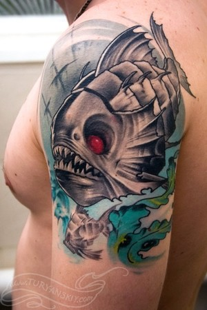 Tattoos - Piranha - 46829