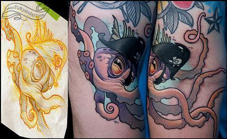 Tattoos - Octopus - 73358