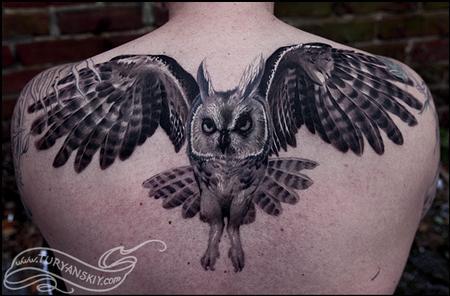 Tattoos - Owl - 70447