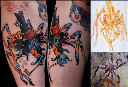 Tattoos - Sea spider - 73960