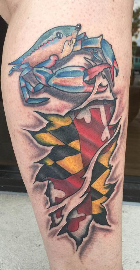 Tattoos - Maryland Skin Rip - 134931
