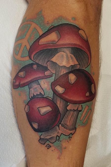 Tattoos - Magic Mushrooms - 134941