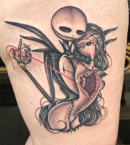 Tattoos - Nightmare Before Christmas Tattoo - 134950