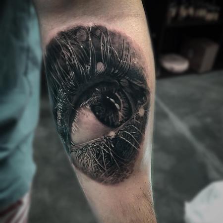 Tattoos - Eye Tattoo - 133735