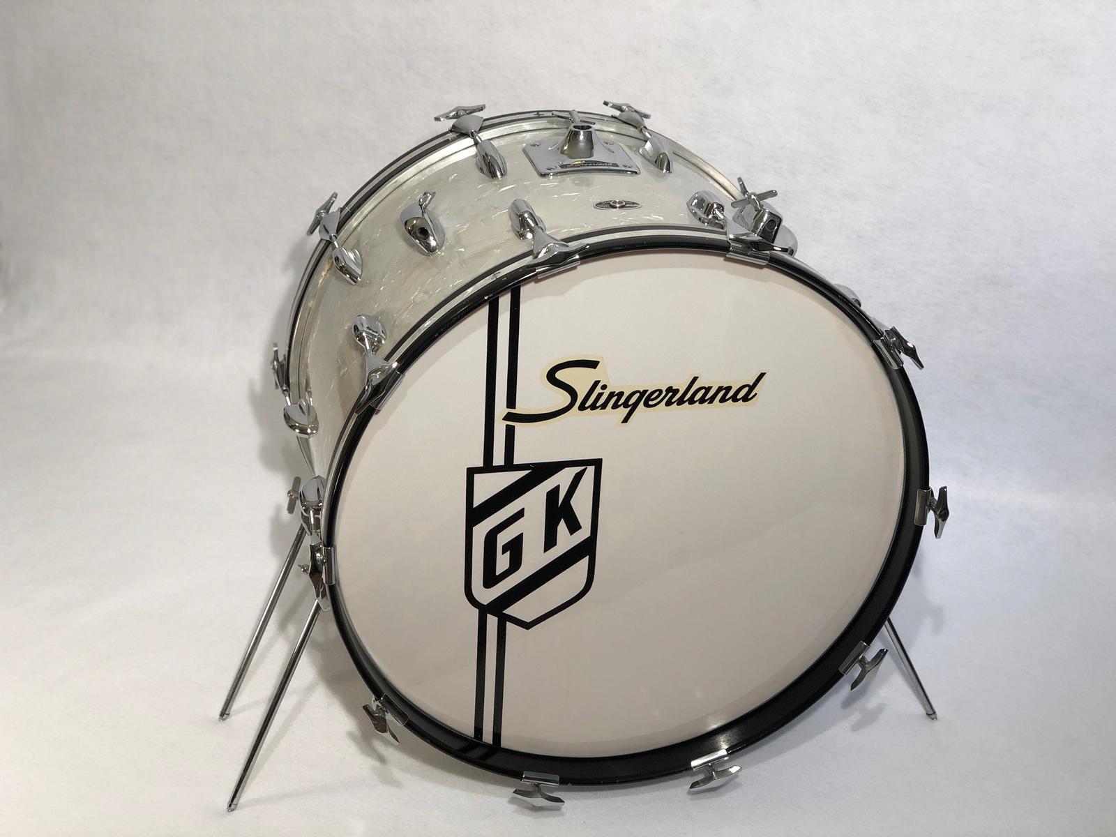 Gene Krupa's drums, Gene Krupa drum collection, Gene Krupa's last bass drum, jazz collectible