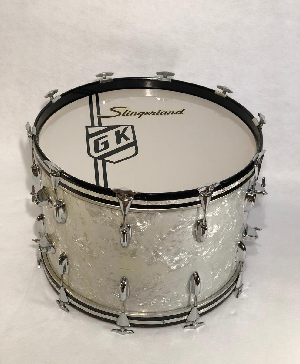 Gene Krupa, famous vintage drums, vintage drum collector, Gene Krupa's drums, Slingerland, Benny Goodman, antique collectables, jazz memorabilia, instrument collection