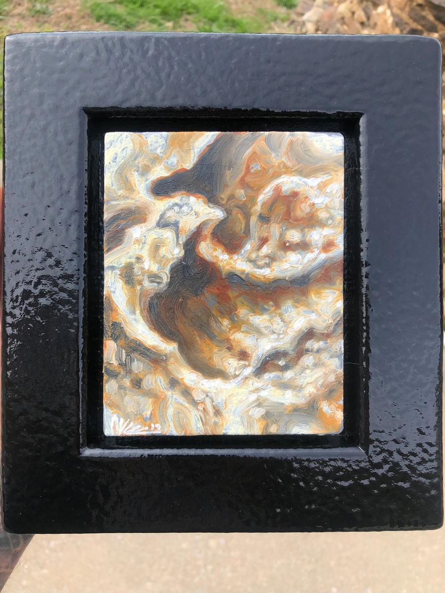 Mini organic I Oil Painting by Guy Aitchison