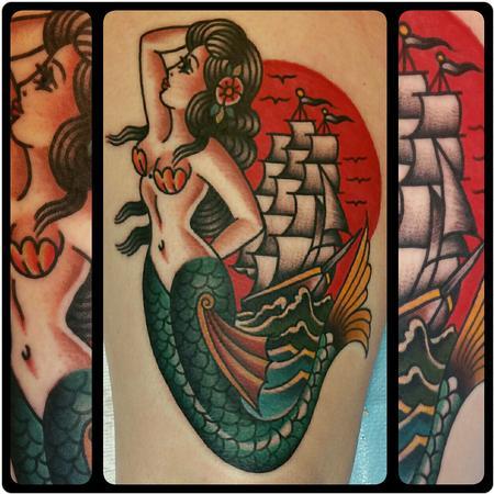 Tattoos - Mermaid - 119984