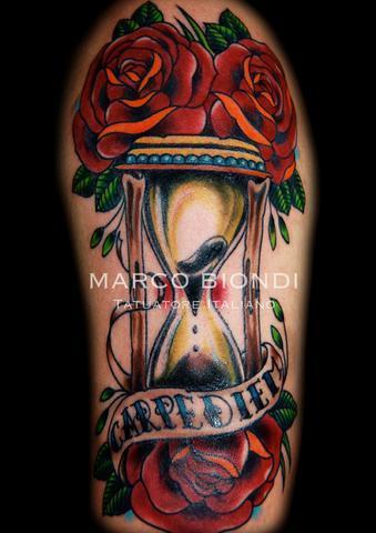 Tattoos - Hourglass - 98926