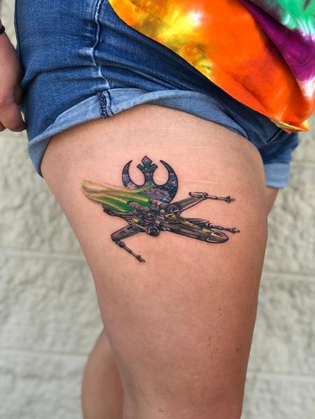 Tattoos - Star Wars X-wing Fighter - 139727