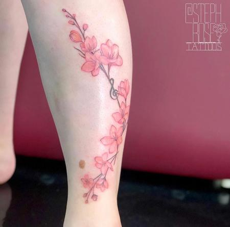 Tattoos - Cherry Blossoms make Music - 139712