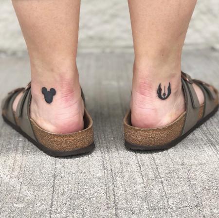 Tattoos - Star Wars Disney Tattoo - 139700
