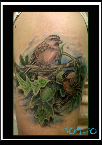 Tattoos - Chickadee - 28708