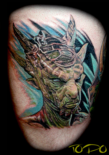 Tattoos - Demon Alien - 28705