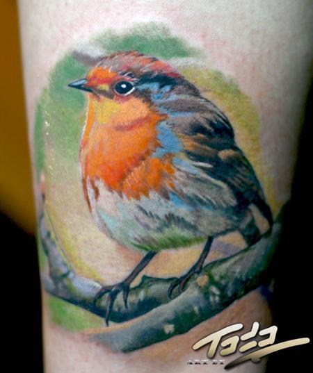 Tattoos - Baby Robin - 66811