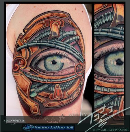 Tattoos - Bio-Punk Eye - 78479