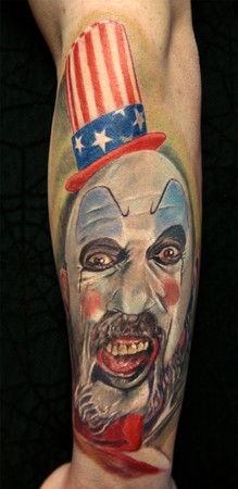 Tattoos - Captain Spaulding - 34209