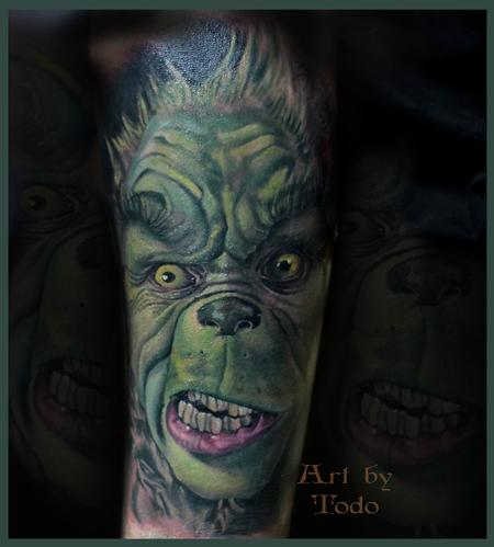 Tattoos - The Grinch - 98238