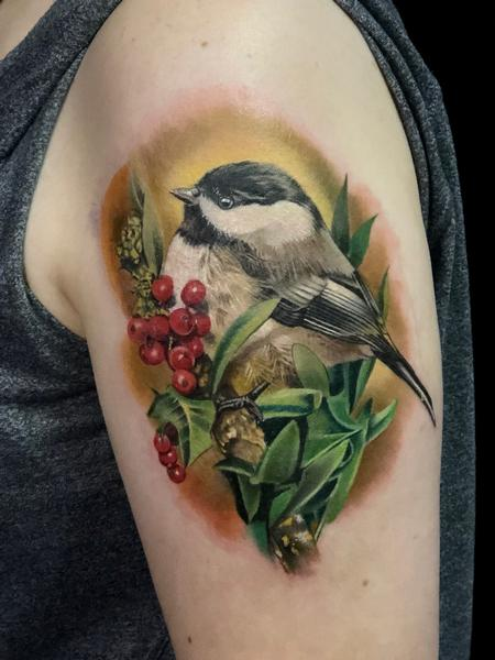 Tattoos - Chickadee  - 138320