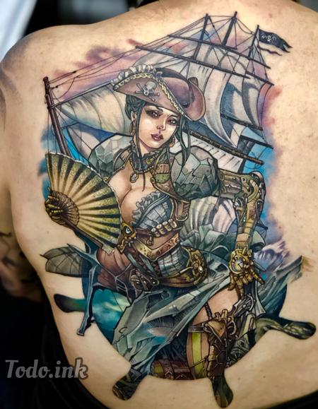 Tattoos - Lady Mechanika - 140014