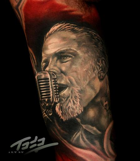 Tattoos - James Hetfield of Metallica - 74192