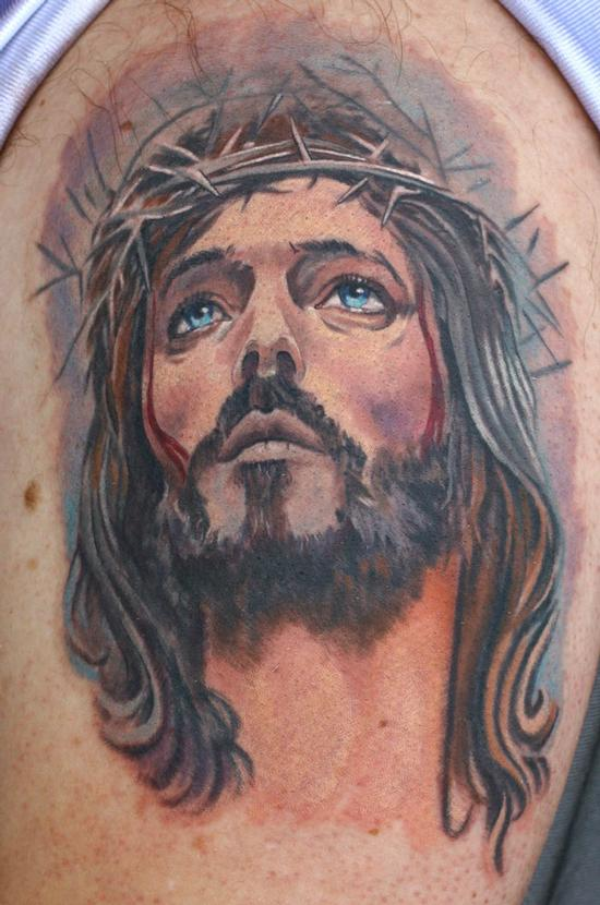 Tattoos - Jesus - 54712