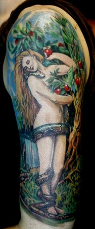 Tattoos - Lilith and Serpent - 43750