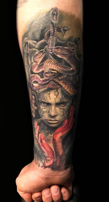 Tattoos - Medusa - 136092