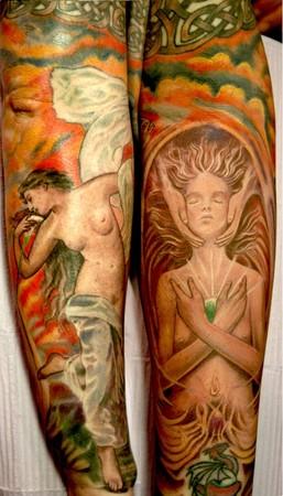 Tattoos - Spiritual Nudity - 41736