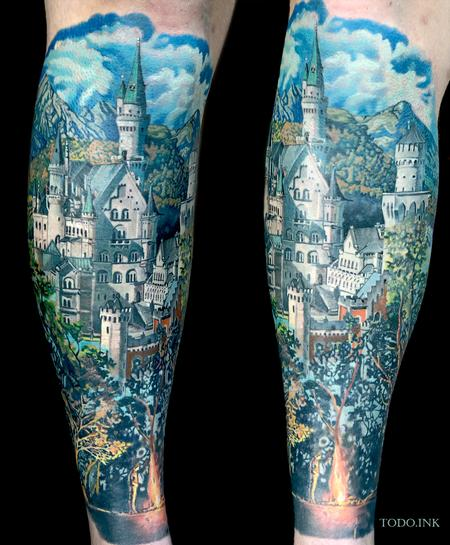 Tattoos - Neuschwanstein Castle - 142281
