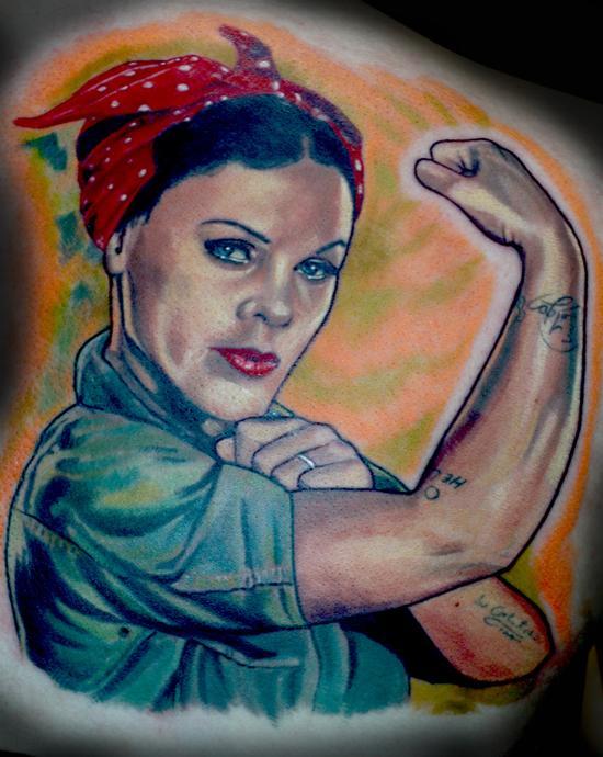 Tattoos - Pink - 54713