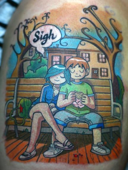 Tattoos - Scott Pilgrim - 53665