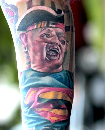 Tattoos - Sloth from the Goonies - 106317
