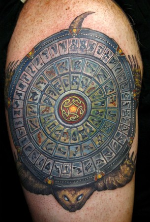 Tattoos - StarGate Turtle - 39897