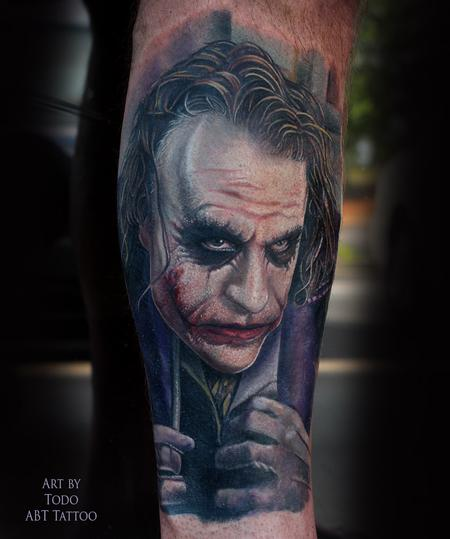Tattoos - Joker - 103890