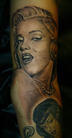 Tattoos - Maryln Monroe - 45145