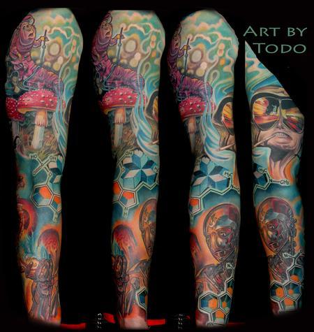 Tattoos - Trip the light fantastic - 100448