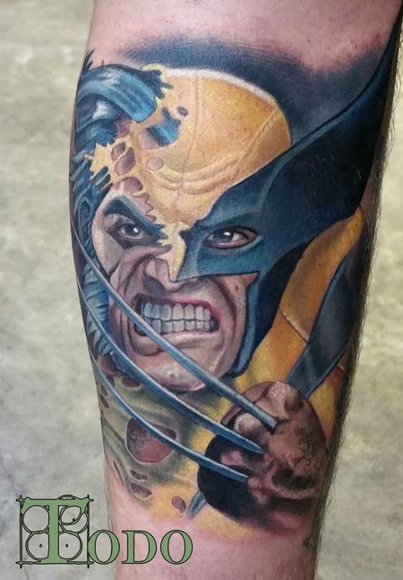 Tattoos - Wolverine - 109814