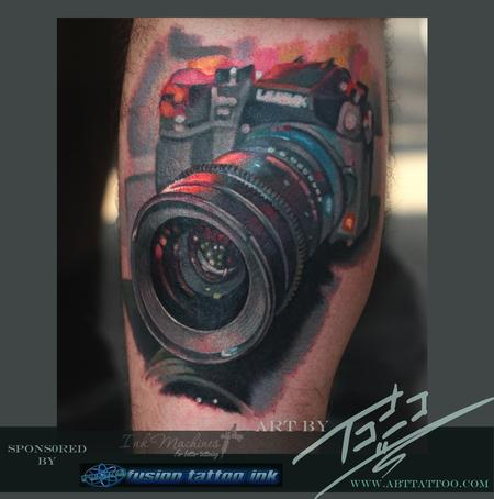 Tattoos - Camera in Macro - 79662