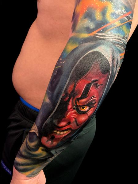 Tattoos - Darth Maul - 138018