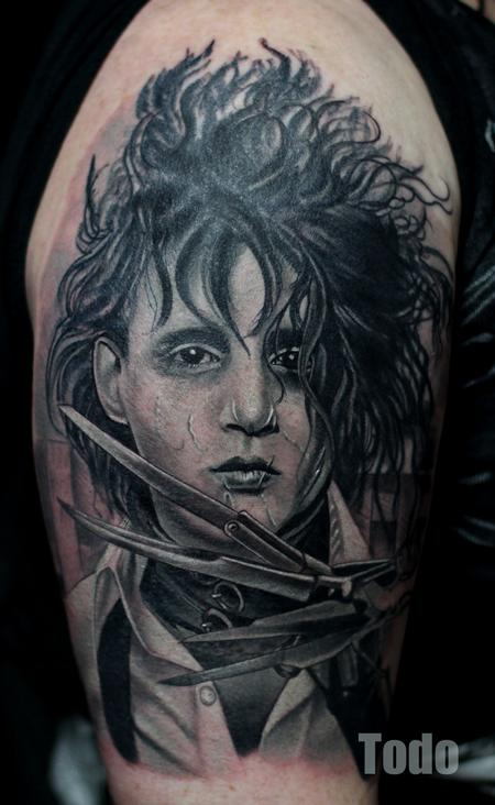 Tattoos - Edward Sissorhands - 92160