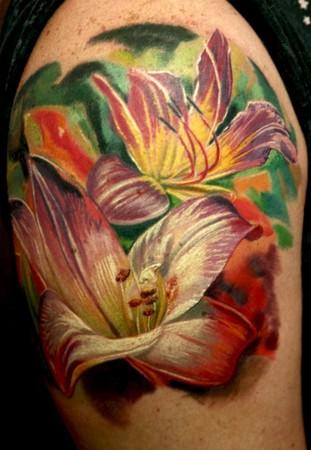 Tattoos - Lilies - 41735
