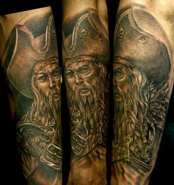 Tattoos - Pirate - 41737
