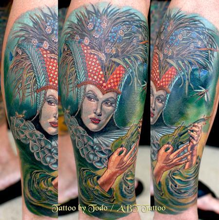 Tattoos - Straw Hat Girl - 57383
