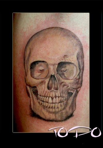 Tattoos - a Skull - 28713