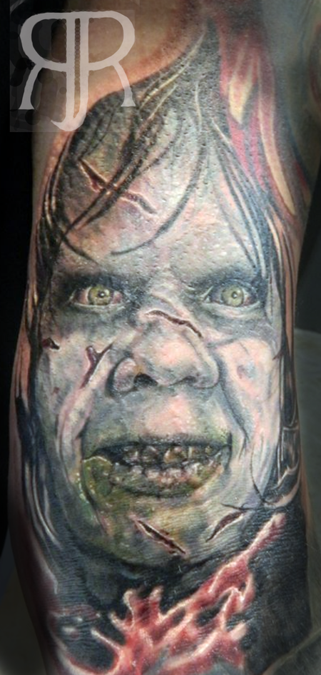 Tattoos - Exorcist Portrait - 89423
